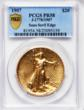One of only two known of its type, this1907 Double Eagle will be part of a $6 million display of early 20th century U.S. gold coins at the Sept. 6 - 8, 2012 Long Beach Expo. (Photo courtesy of Heritage Auctions.)